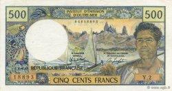 500 Francs TAHITI  1984 P.25c SUP