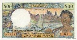 500 Francs TAHITI  1985 K.812e pr.NEUF