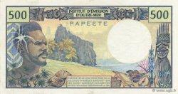 500 Francs TAHITI  1985 K.812e SUP à SPL