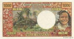 1000 Francs TAHITI  1969 P.26 pr.NEUF