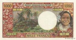 1000 Francs TAHITI  1971 P.27a pr.NEUF