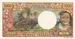 1000 Francs TAHITI  1985 P.27d pr.SPL