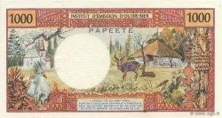 1000 Francs TAHITI  1985 K.814e pr.SPL