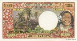 1000 Francs TAHITI  1985 P.27d SUP