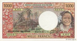 1000 Francs TAHITI  1988 K.814f pr.NEUF