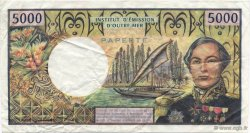 5000 Francs TAHITI  1982 P.28c TTB