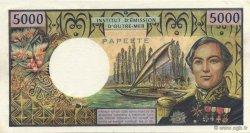 5000 Francs TAHITI  1985 K.815d NEUF