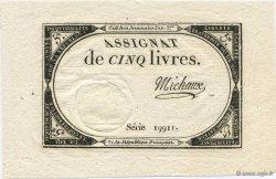 5 Livres FRANCE  1793 Laf.171 NEUF