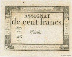 100 Francs FRANCE  1795 Laf.173 pr.NEUF