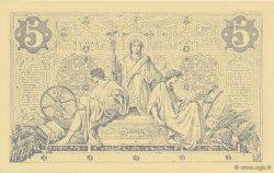 5 Francs NOIR FRANCE  1873 F.01.20 pr.SPL
