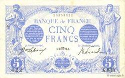 5 Francs BLEU FRANCE  1912 F.02.08 SUP