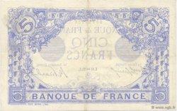 5 Francs BLEU FRANCE  1913 F.02.13 SUP