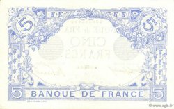 5 Francs BLEU FRANCE  1915 F.02.32 SUP+