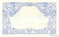 5 Francs BLEU FRANCE  1915 F.02.33 pr.NEUF