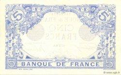 5 Francs BLEU FRANCE  1916 F.02.37 SPL+
