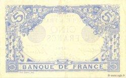 5 Francs BLEU FRANCE  1916 F.02.40 SUP+