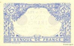 5 Francs BLEU FRANCE  1916 F.02.46 pr.SPL