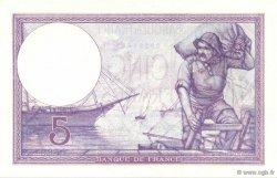 5 Francs VIOLET FRANCE  1918 F.03.02 pr.NEUF