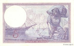 5 Francs VIOLET FRANCE  1921 F.03.05 SPL