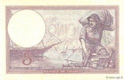 5 Francs VIOLET FRANCE  1931 F.03.15 pr.NEUF
