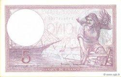 5 Francs VIOLET modifié FRANCE  1939 F.04.04 NEUF