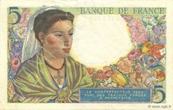 5 Francs BERGER FRANCE  1943 F.05.00s1 SPL