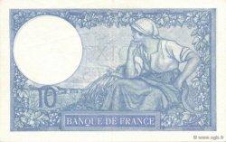 10 Francs MINERVE modifié FRANCE  1939 F.07.09 SPL