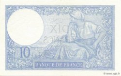 10 Francs MINERVE modifié FRANCE  1940 F.07.25 SPL+