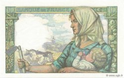 10 Francs MINEUR FRANCE  1942 F.08.03 pr.NEUF