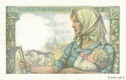 10 Francs MINEUR FRANCE  1943 F.08.07 pr.SPL