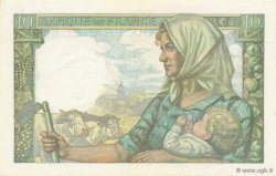 10 Francs MINEUR FRANCE  1943 F.08.09 pr.NEUF