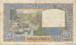 20 Francs SCIENCE ET TRAVAIL FRANCE  1941 F.12.18 TB à TTB