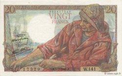 20 Francs PÊCHEUR FRANCE  1945 F.13.10 SPL+