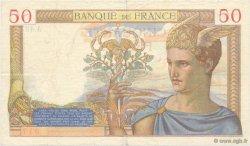 50 Francs CÉRÈS FRANCE  1935 F.17.04 TTB à SUP