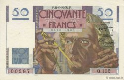 50 Francs LE VERRIER FRANCE  1948 F.20.10 NEUF