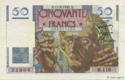 50 Francs LE VERRIER FRANCE  1949 F.20.11 SPL