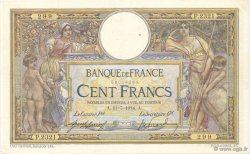100 Francs LUC OLIVIER MERSON sans LOM FRANCE  1914 F.23.06 TTB à SUP