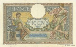 100 Francs LUC OLIVIER MERSON grands cartouches FRANCE  1926 F.24.04 SUP