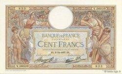 100 Francs LUC OLIVIER MERSON type modifié FRANCE  1937 F.25.04 SPL