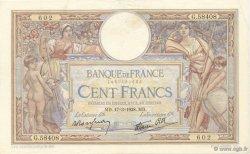 100 Francs LUC OLIVIER MERSON type modifié FRANCE  1938 F.25.13 TTB à SUP