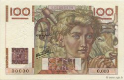 100 Francs JEUNE PAYSAN FRANCE  1945 F.28.00 NEUF