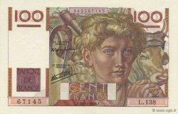 100 Francs JEUNE PAYSAN FRANCE  1946 F.28.11 NEUF