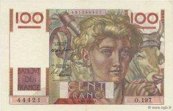 100 Francs JEUNE PAYSAN FRANCE  1947 F.28.14 pr.SPL