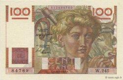 100 Francs JEUNE PAYSAN FRANCE  1948 F.28.18 SPL