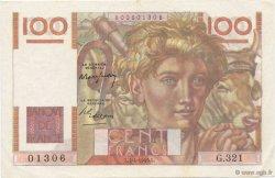 100 Francs JEUNE PAYSAN FRANCE  1949 F.28.23 SUP+