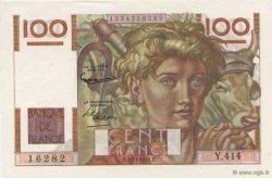 100 Francs JEUNE PAYSAN FRANCE  1951 F.28.30 pr.NEUF