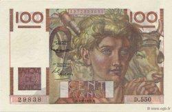 100 Francs JEUNE PAYSAN FRANCE  1953 F.28.37 NEUF