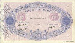 500 Francs BLEU ET ROSE type modifié FRANCE  1937 F.31.03 TTB+
