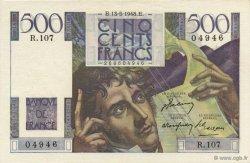 500 Francs CHATEAUBRIAND FRANCE  1948 F.34.08 pr.SPL