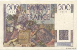 500 Francs CHATEAUBRIAND FRANCE  1953 F.34.11